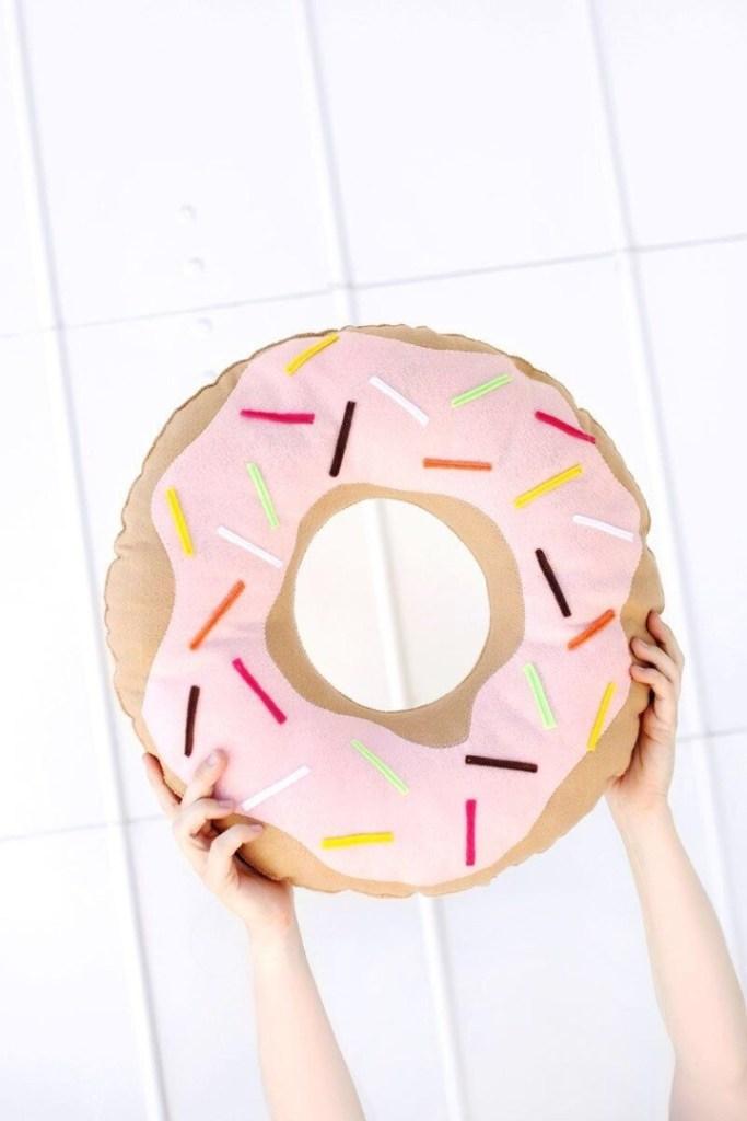 Coussin cupcake cousu main