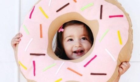 Coudre un coussin cupcake