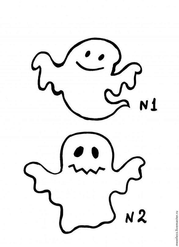 Patron couture fantôme Halloween