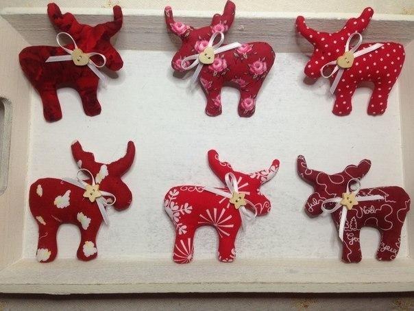 Coudre des Figurines rennes
