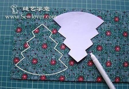 Préparer vos pièces de tissu