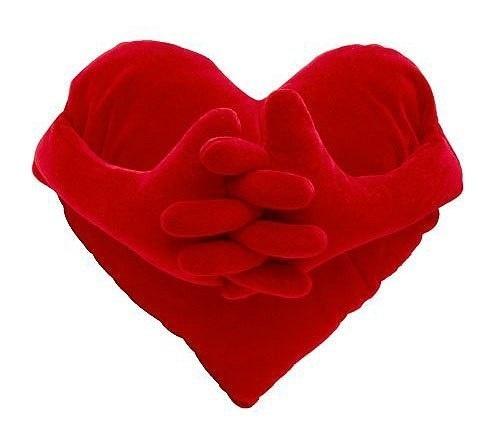 Couture un coussin coeur St-Valentin