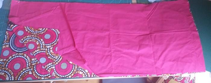 1 - Fourniture 3 rectangles pour la jupe