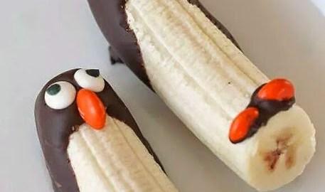 dessert bananes chocolat