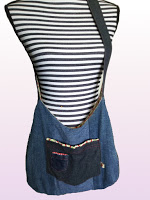 Mes projets Couture - Sac en jeans recyclé