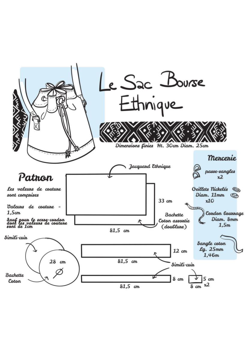 Tuto couture : Sac Bourse