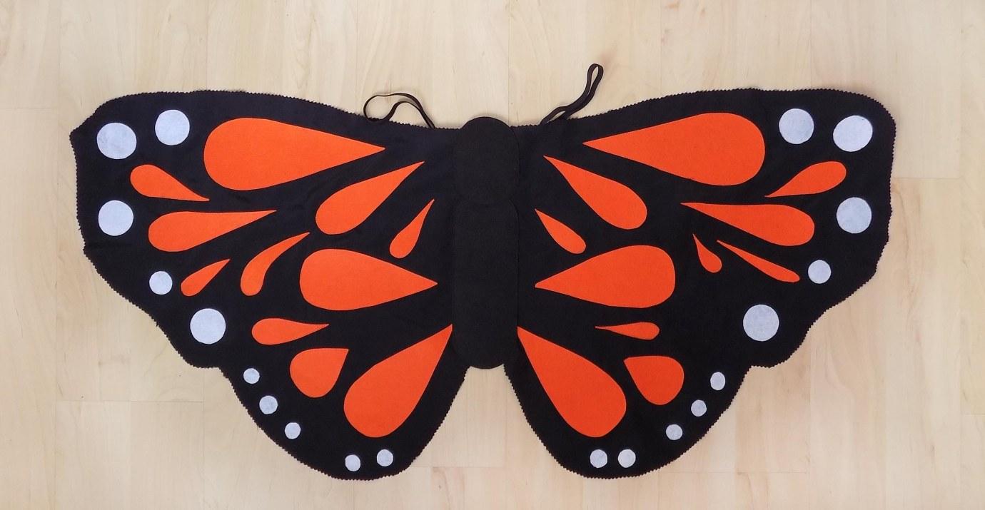 coudre un costume papillon