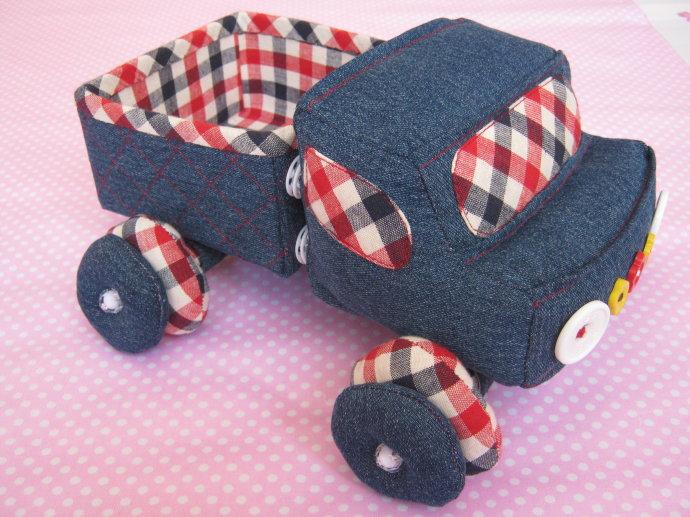 couture camion benne pour enfant