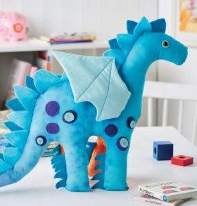 Patron peluche dragon