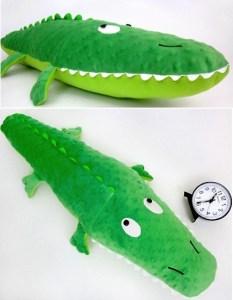 patron couture peluche crocodile