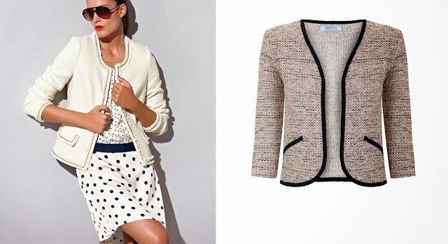 c05542d5a7ea Patron veste tweed Chanel - Patron Couture Femme - Breizh Mama
