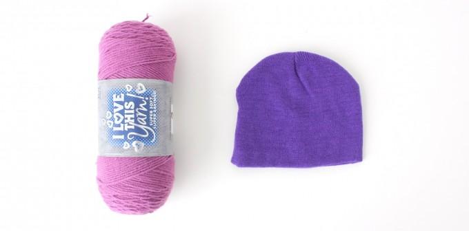 perruque en laine maison