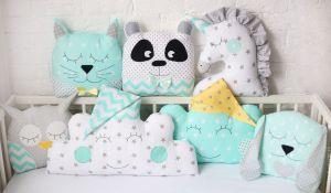 Tour de lit bébé animaux