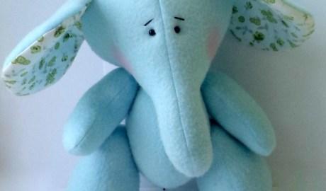 patron peluche éléphant