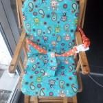 Housse de chaise bébé