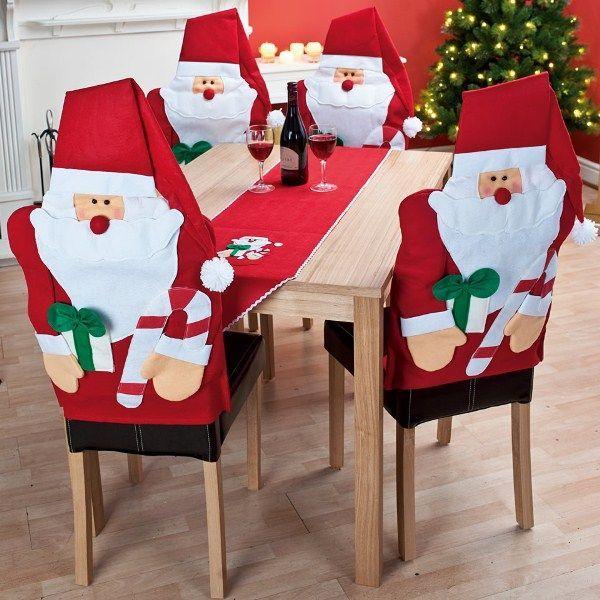 Couvre chaise père Noël