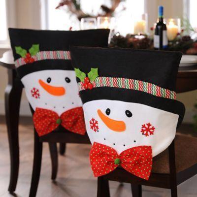 Couvre chaise de Noël