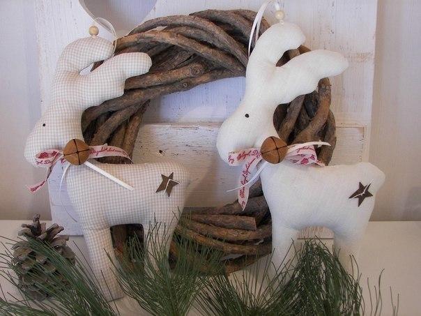 Coudre des Figurines rennes du père noël