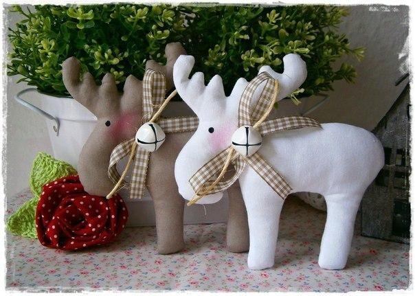 Coudre des Figurines rennes de noël