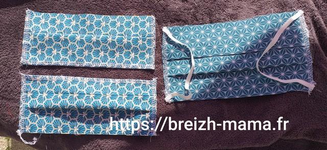 Préparez vos pièces de tissu