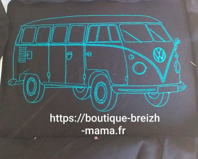 Broderie combi Volkswagen