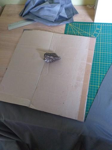 Gabarit carton pour housses de coussin