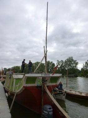 Barque de poste du Canal du Midi