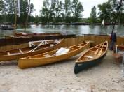 Des canoes