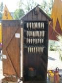 harengs fumés sur le stand néerlandais