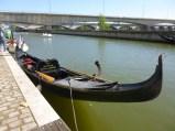 L'autre embarcation italienne du club d'aviron sucéen