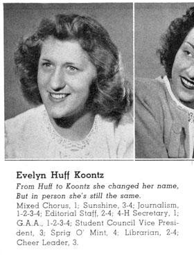Evelyn [Huff] Koontz
