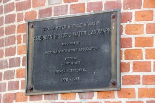 standpipe landmark plaque