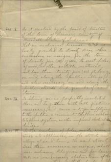 1899 telephone exchange resolution