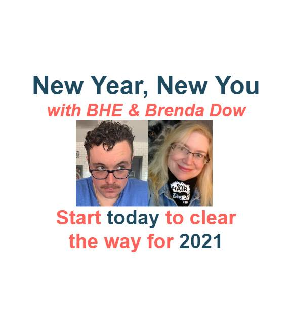 Brenda Dow and her husband, her life and professional partner.