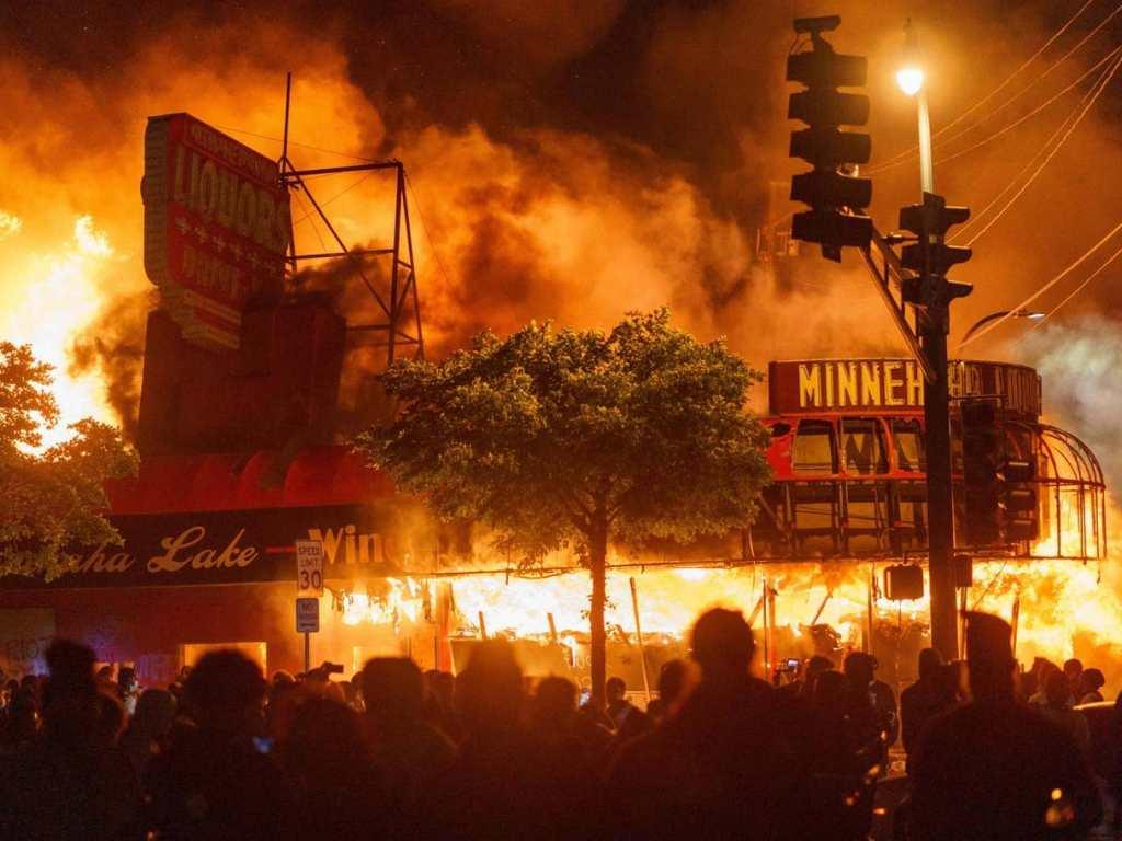 Minneapolis riot