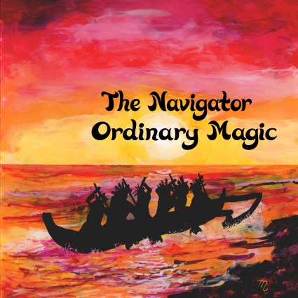 """Front Cover for """"The Navigator"""" Single by Ordinary Magic"""