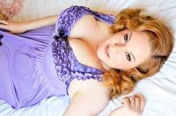 Pin Up Style Image of Singer-Songwriter Brenda Layne