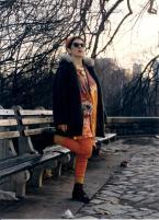 Musical Artist Brenda Layne in Central Park NYC