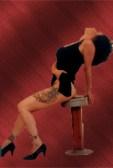 Pin-up Style Image of musical artist Brenda Layne