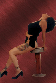 Pin-up Style Image of musical artist Brenda Layne