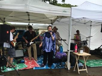 Brenda Layne Lead Singer of Ordinary Magic performing in Hawaii