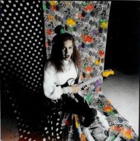 Colorized image of Musical Artist Brenda Layne