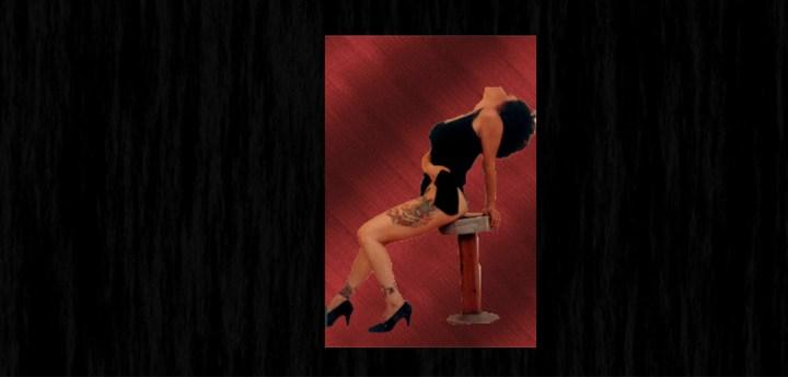 Lyric Page Pin Up Pic of Singer-Songwriter Brenda Layne