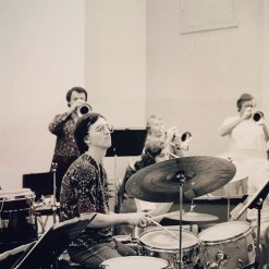 Steven Bagby was my jazz drumset instructor at the University of Miami: School of Music