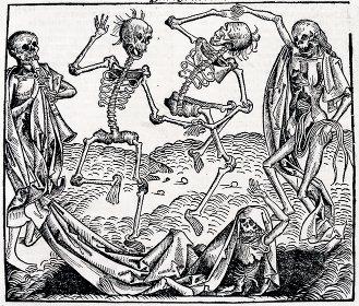Michael Wolgemut's 'Danse Macabre/Dance of Death.' (1493)