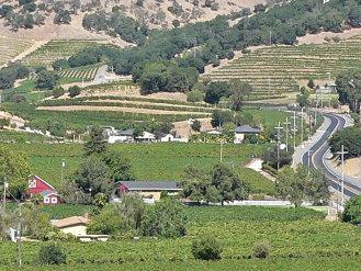Napa Valley, California, Silverado Trail area. From Stan Shebs, via Wikimedia Commons, used w/o permission.