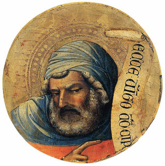 Lorenzo Monaco's 'The Prophet Isaiah' between 1405 and 1410
