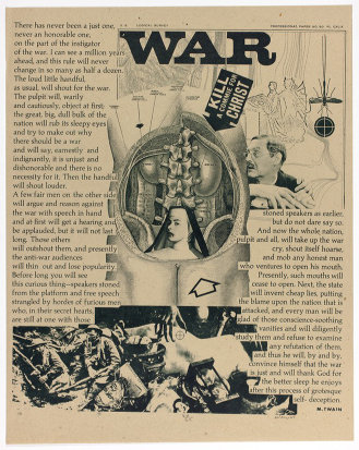 Kill A Commie For Christ, plate sixteen from Peace is Patriotic; by William Weege. (1967)