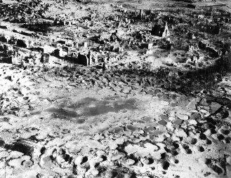 Wesel, Germany, 1945.