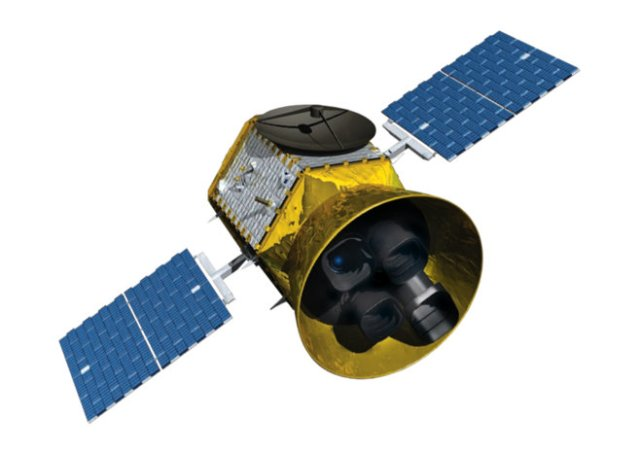 Artist's concept of NASA's TESS space observatory. (2014)